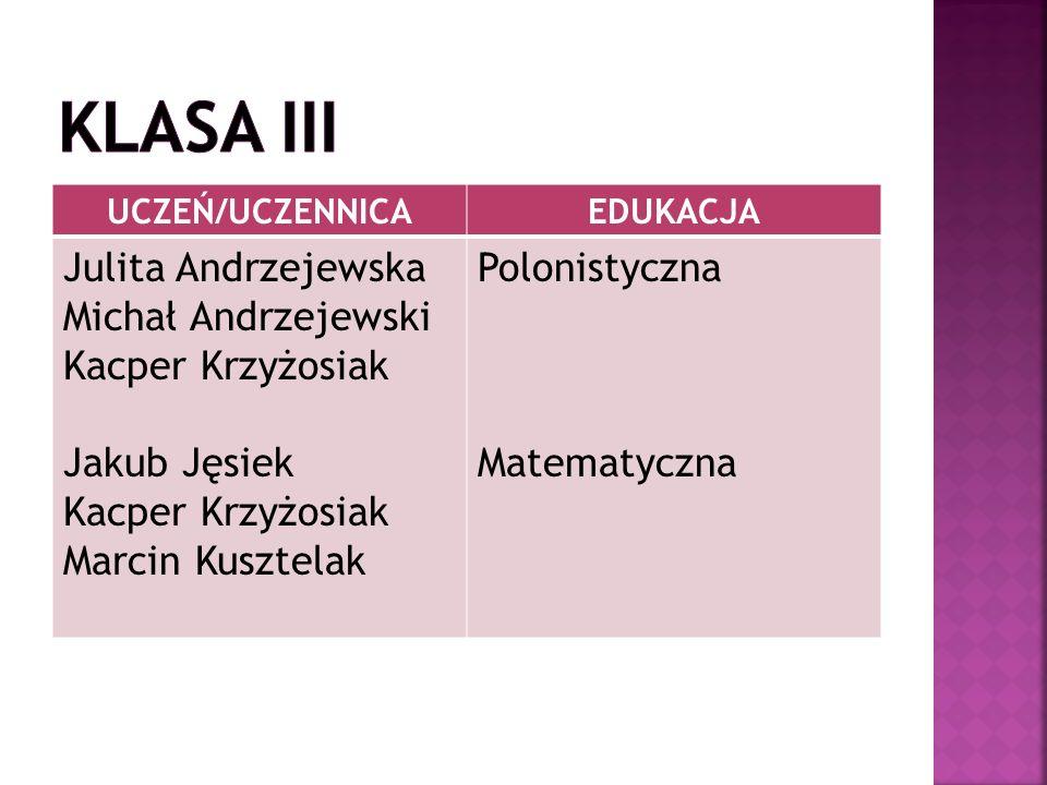 KLASA I - 93,2% KLASA II – 93% KLASA III – 90,9%