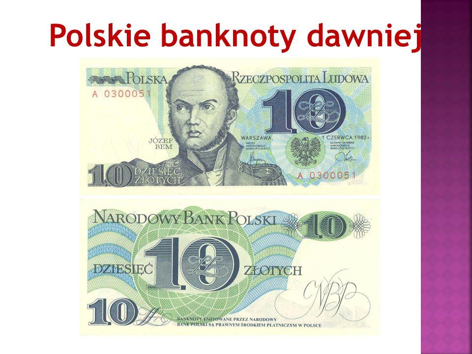 Polskie banknoty dawniej