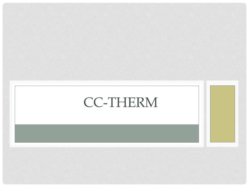CC-THERM