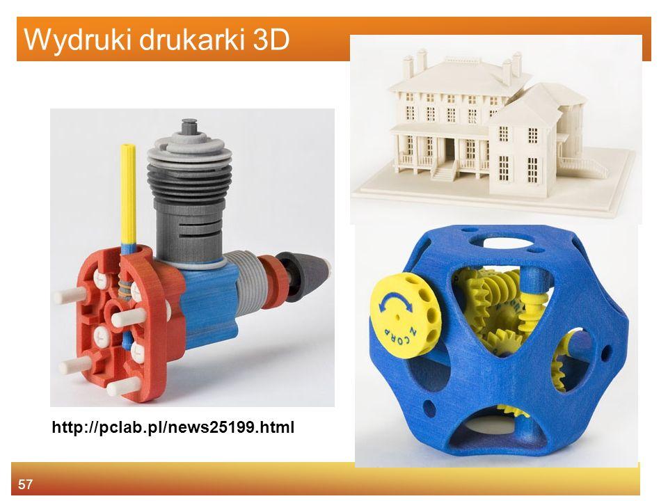 57 Wydruki drukarki 3D http://pclab.pl/news25199.html