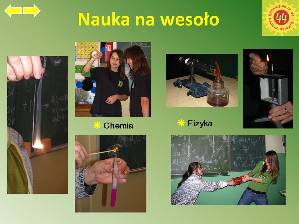 Nauka na wesoło Chemia Fizyka