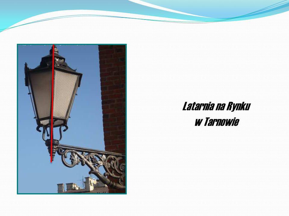 Ozdoba fasady tarnowskiej kamienicy na Rynku. Kamienica tarnowska