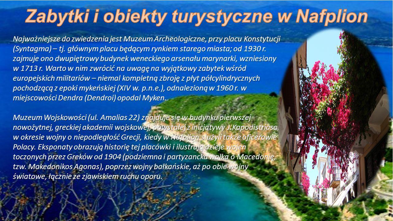 Najważniejsze do zwiedzenia jest Muzeum Archeologiczne, przy placu Konstytucji (Syntagma) – tj.