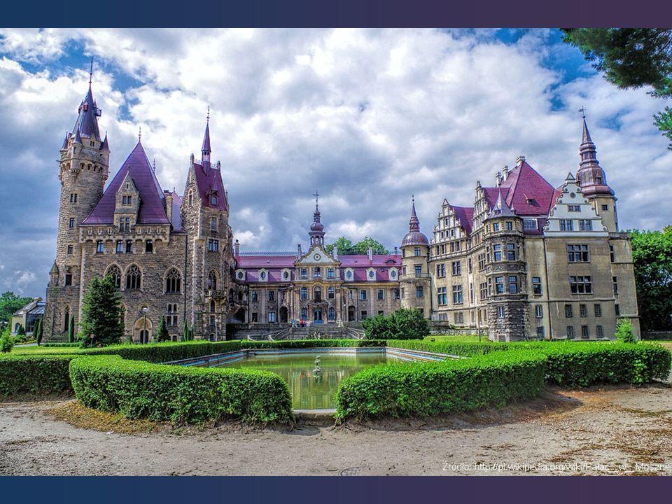 Zamek w Mosznej jest jednym z najcenniejszych obiektów zabytkowych na ziemi opolskiej.