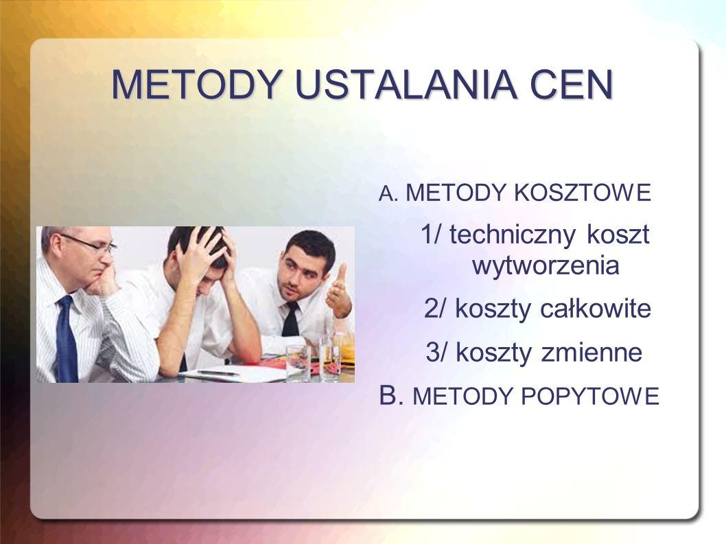 METODY USTALANIA CEN A.