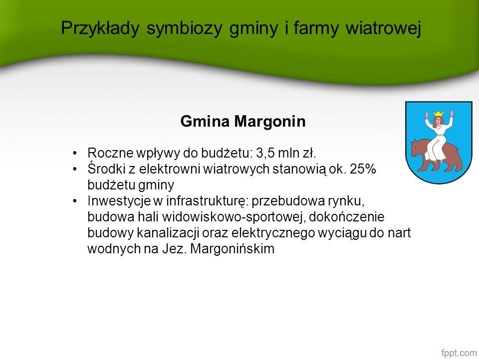 Gmina Margonin Roczne wpływy do budżetu: 3,5 mln zł.
