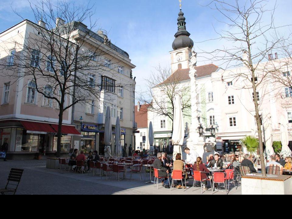 St. Pölten Miasto w północno-wschodniej Austrii, którego udokumentowana historia sięga VIII wieku, kiedy to przybyli tu mnisi założyli klasztor. Do na