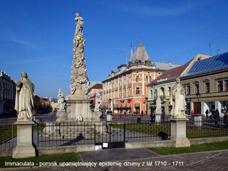 Immaculata - pomnik upamiętniający epidemię dżumy z lat 1710 - 1711