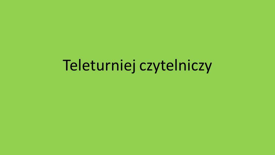 Teleturniej czytelniczy