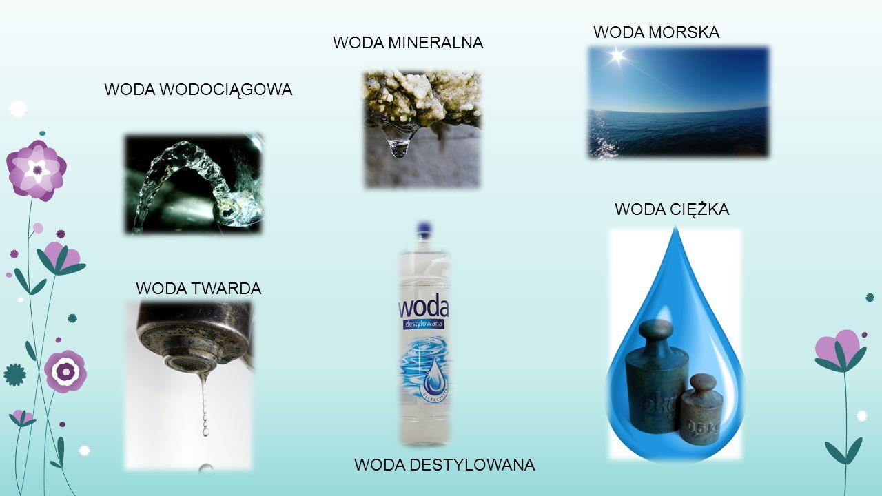 Główne zanieczyszczenia wód.