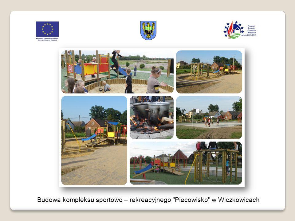 Budowa kompleksu sportowo – rekreacyjnego Piecowisko w Wiczkowicach