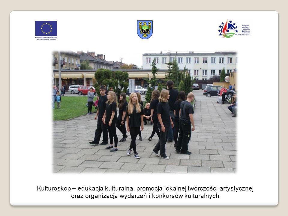 Kulturoskop – edukacja kulturalna, promocja lokalnej twórczości artystycznej oraz organizacja wydarzeń i konkursów kulturalnych