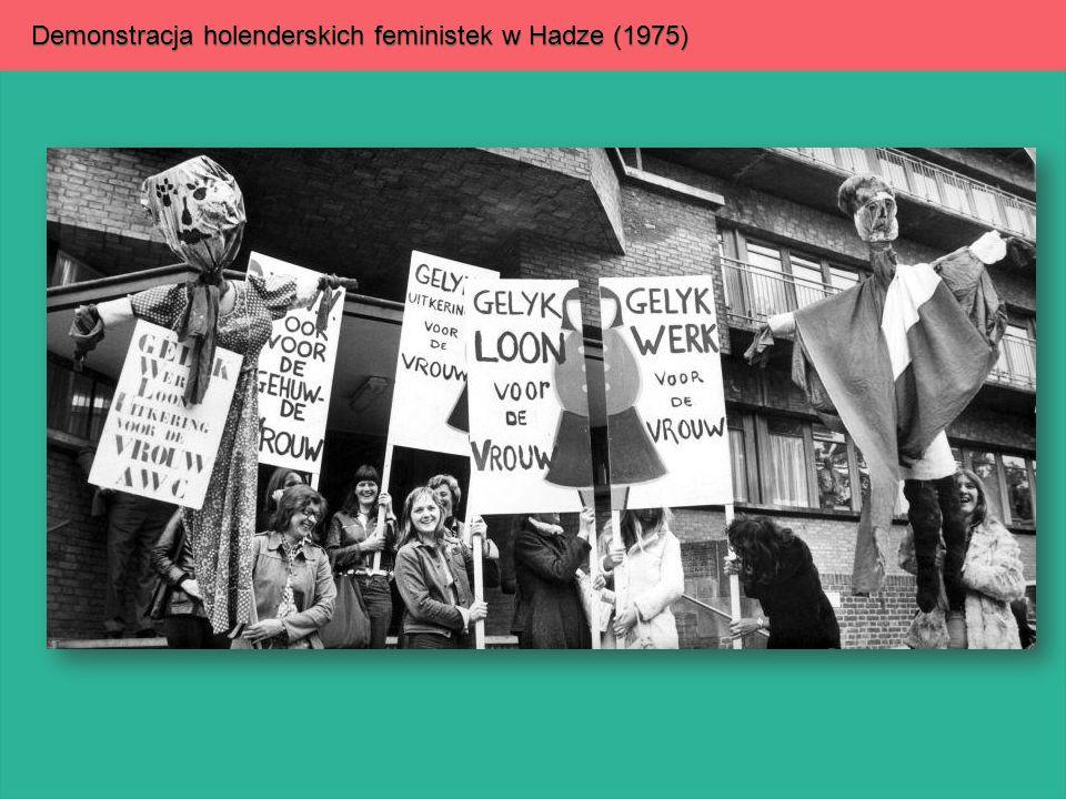 Demonstracja holenderskich feministek w Hadze (1975)