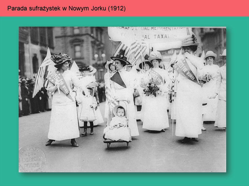 Parada sufrażystek w Nowym Jorku (1912)