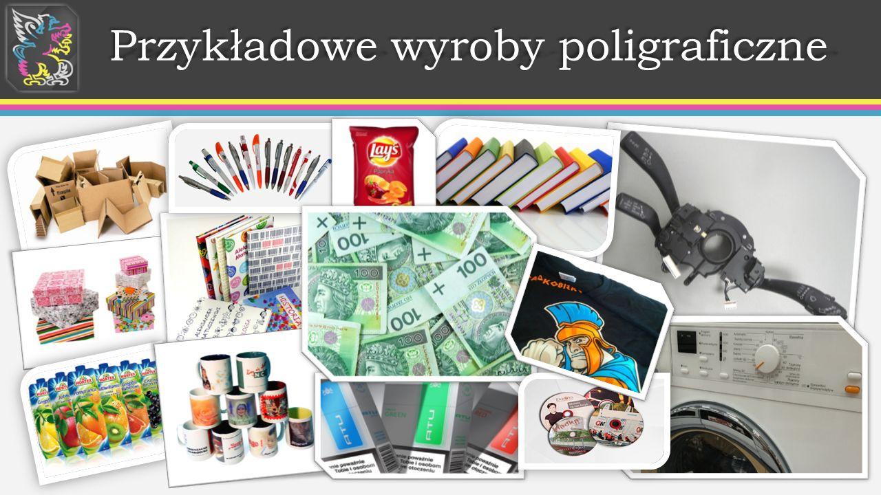 Przykładowe wyroby poligraficzne Przykładowe wyroby poligraficzne