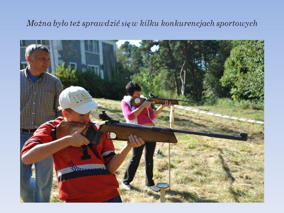 Można było też sprawdzić się w kilku konkurencjach sportowych