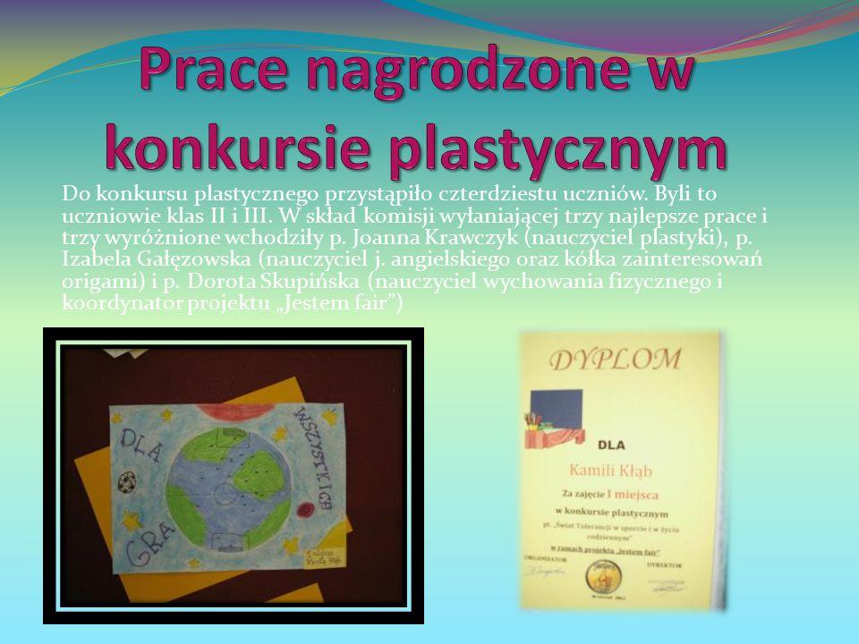 II MIEJSCE III MIEJSCE Sonia Brych Izabela Derdoń Weronika Jankowska