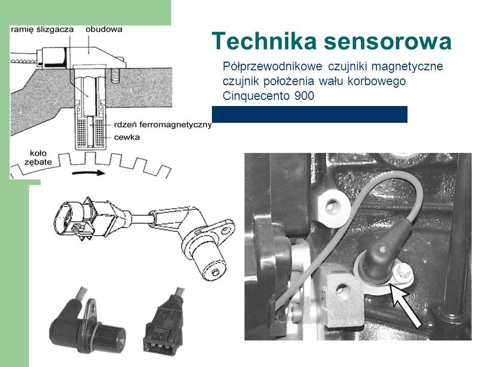 Technika sensorowa Półprzewodnikowe czujniki magnetyczne czujnik położenia wału korbowego Cinquecento 900