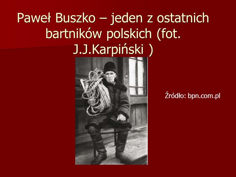 Paweł Buszko – jeden z ostatnich bartników polskich (fot. J.J.Karpiński ) Źródło: bpn.com.pl
