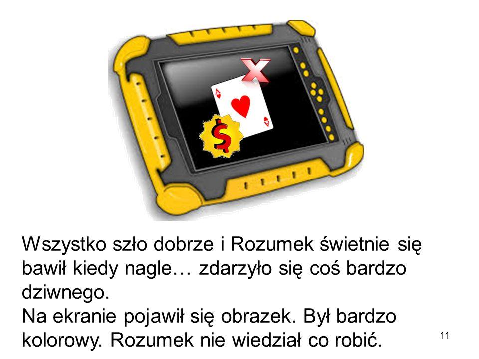 10 Pingwinkowa mama pomogła Rozumkowi znaleźć jego ulubione gry i tablet był gotowy do użycia!