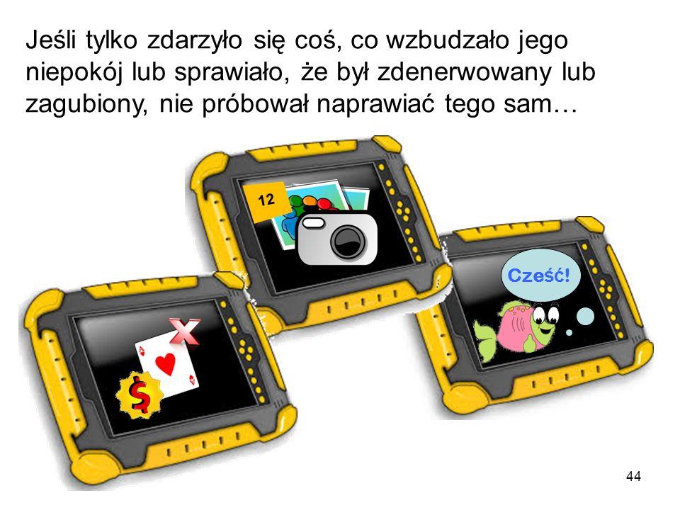 43 Od tej pory pingwinek Rozumek zawsze wiedział, jak w bezpieczny sposób używać swojego tabletu i grać przez Internet!