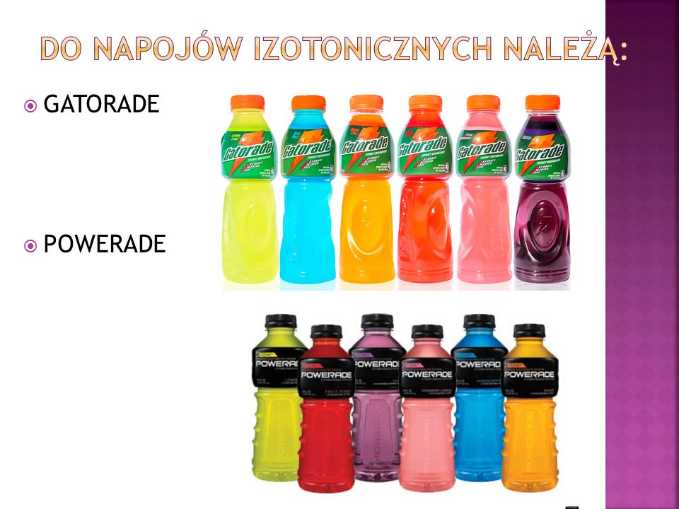  GATORADE  POWERADE