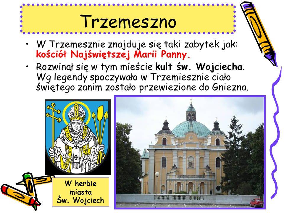 Trzemeszno W Trzemesznie znajduje się taki zabytek jak: kościół Najświętszej Marii Panny.