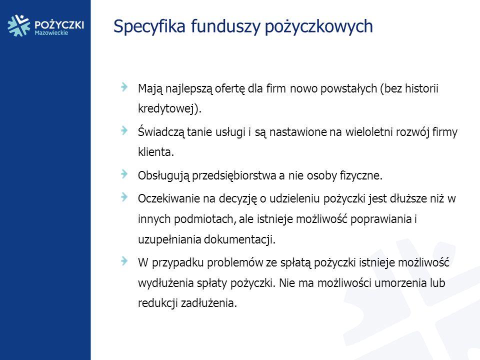 Mazowiecki Regionalny Fundusz Pożyczkowy sp.z o. o.