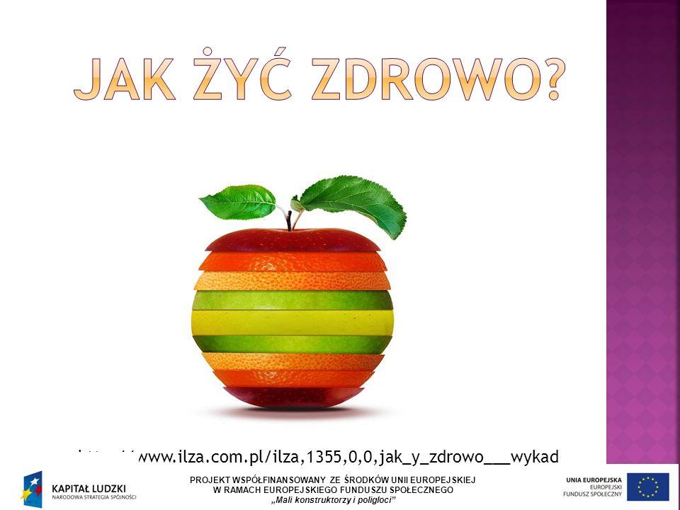 """http://www.ilza.com.pl/ilza,1355,0,0,jak_y_zdrowo___wykad PROJEKT WSPÓŁFINANSOWANY ZE ŚRODKÓW UNII EUROPEJSKIEJ W RAMACH EUROPEJSKIEGO FUNDUSZU SPOŁECZNEGO """"Mali konstruktorzy i poligloci"""
