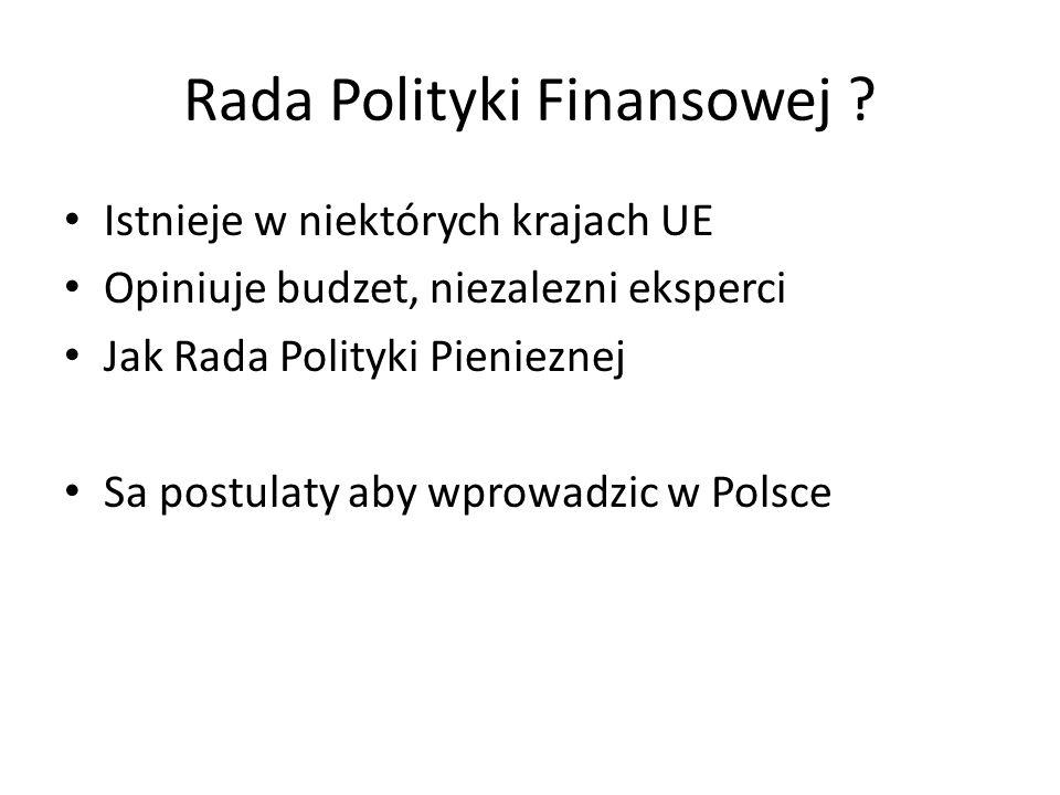 Rada Polityki Finansowej .