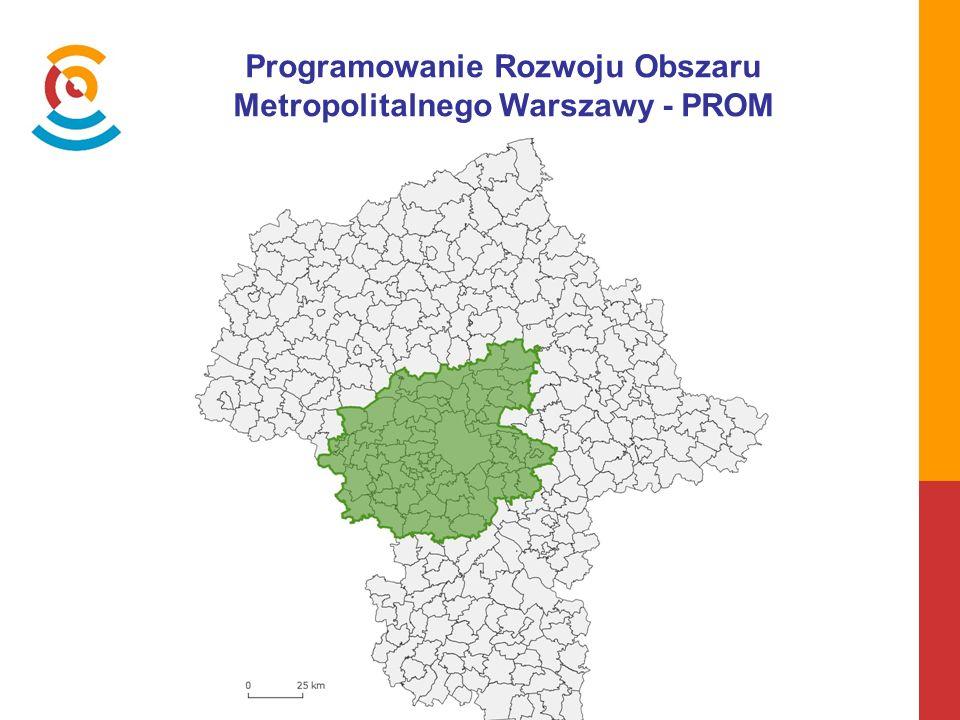 Programowanie Rozwoju Obszaru Metropolitalnego Warszawy - PROM