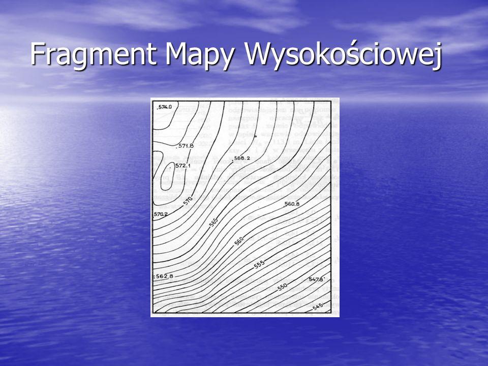 Fragment Mapy Wysokościowej