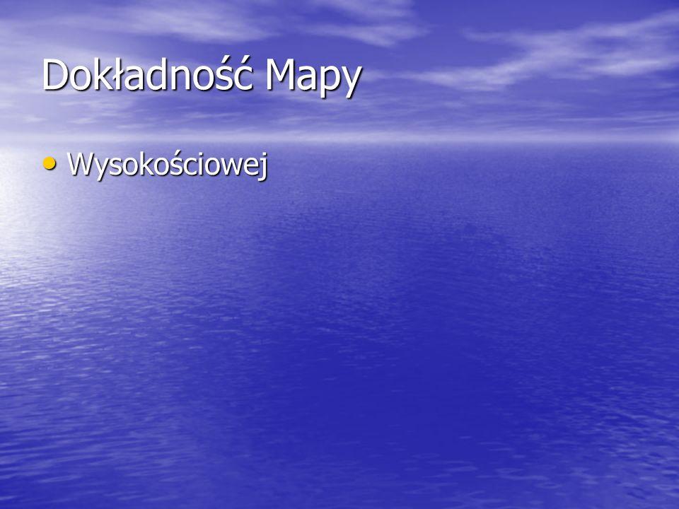 Dokładność Mapy Wysokościowej Wysokościowej