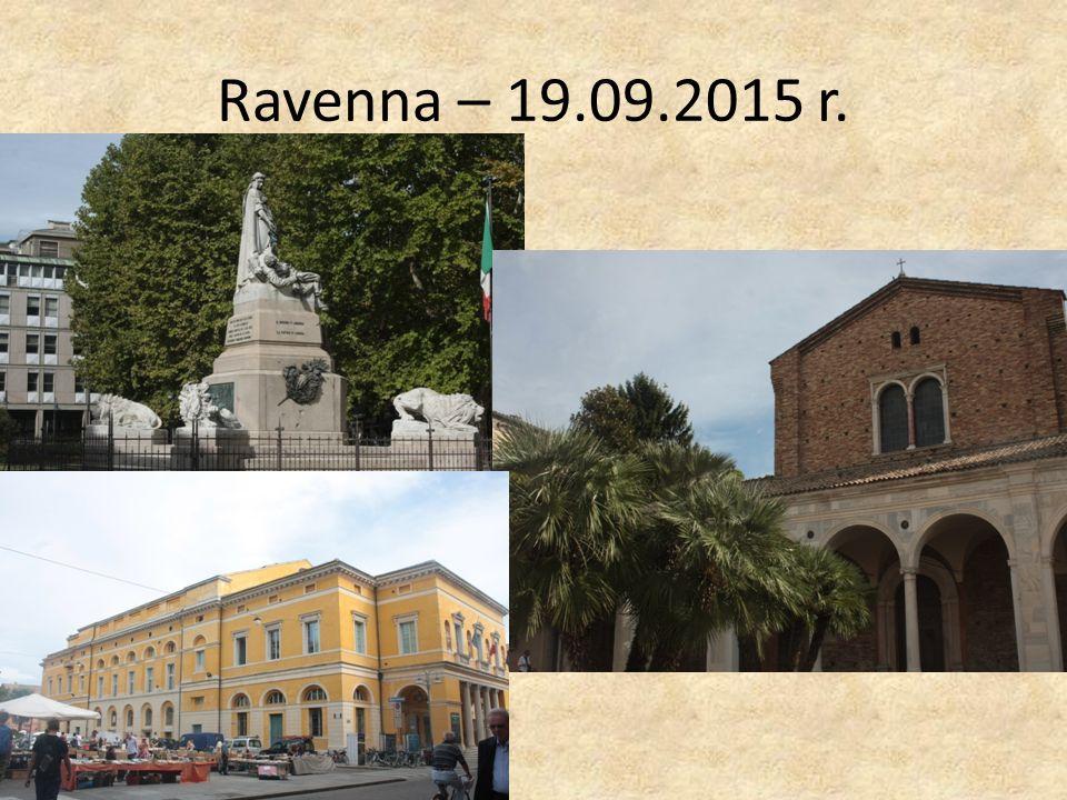 Ravenna – 19.09.2015 r.