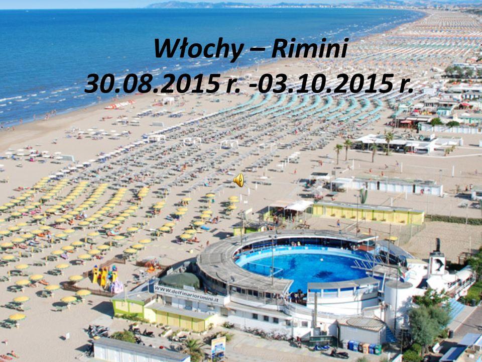 Włochy – Rimini 30.08.2015 r. -03.10.2015 r.