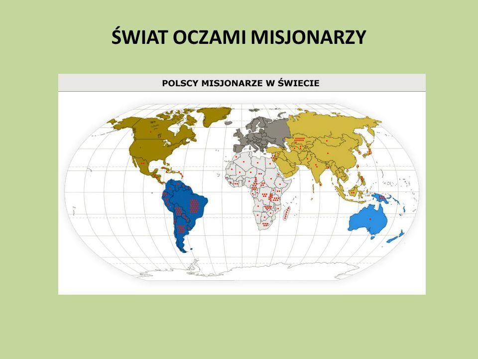 Obecnie w 97 krajach misyjnych pracuje 2115 misjonarzy z Polski.