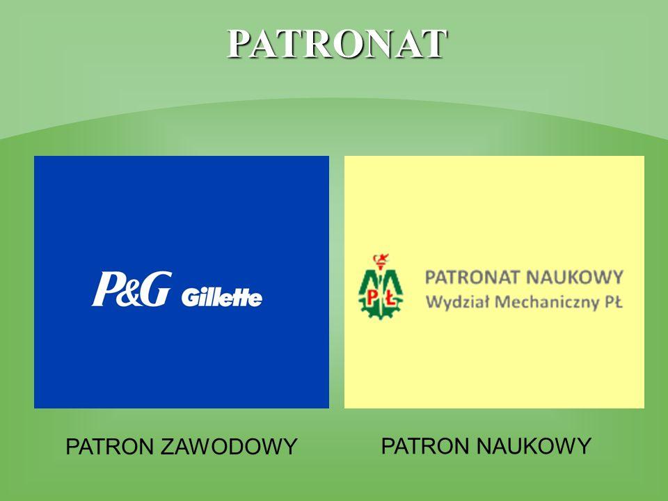 PATRONAT PATRON ZAWODOWY PATRON NAUKOWY