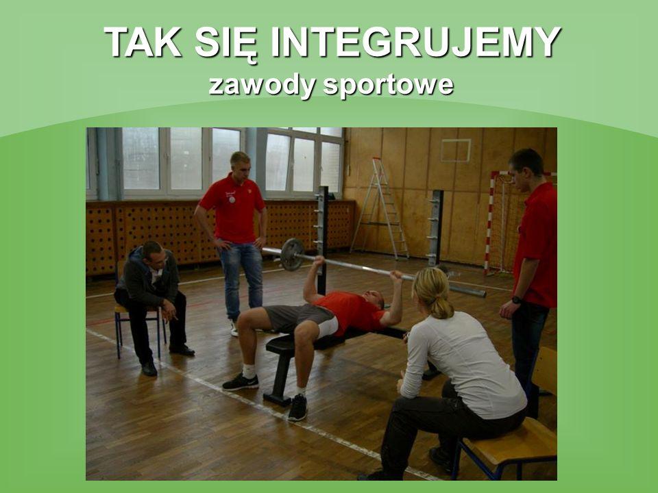 TAK SIĘ INTEGRUJEMY zawody sportowe