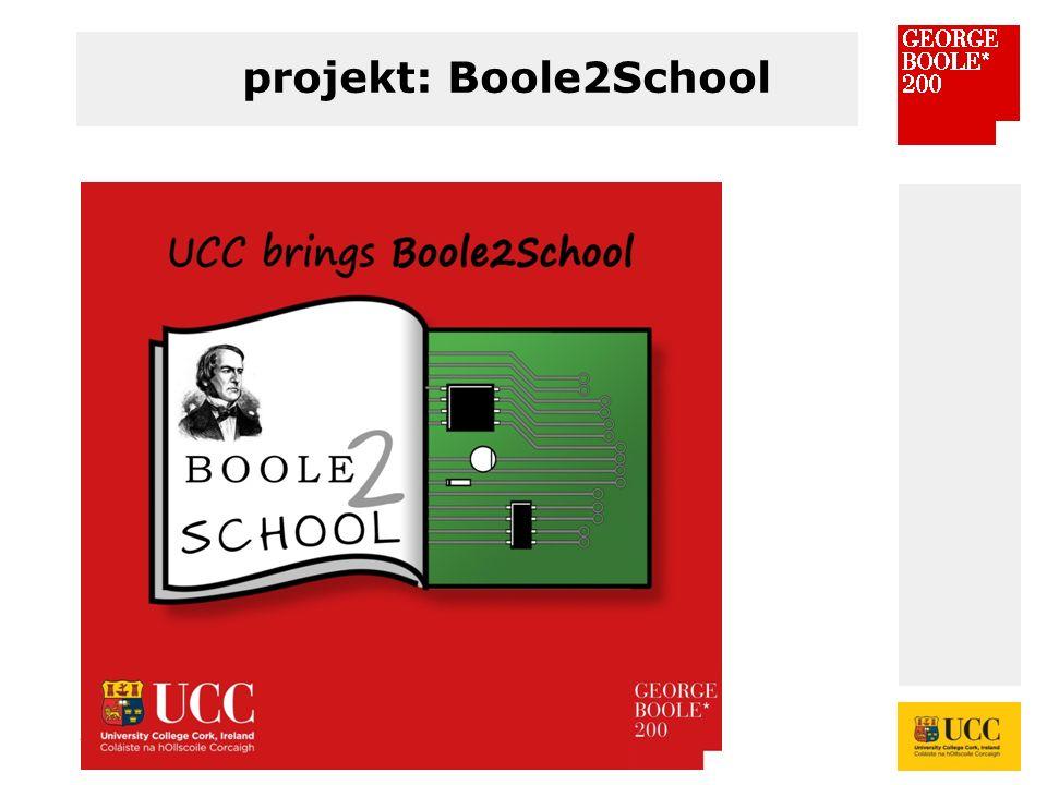 * projekt: Boole2School