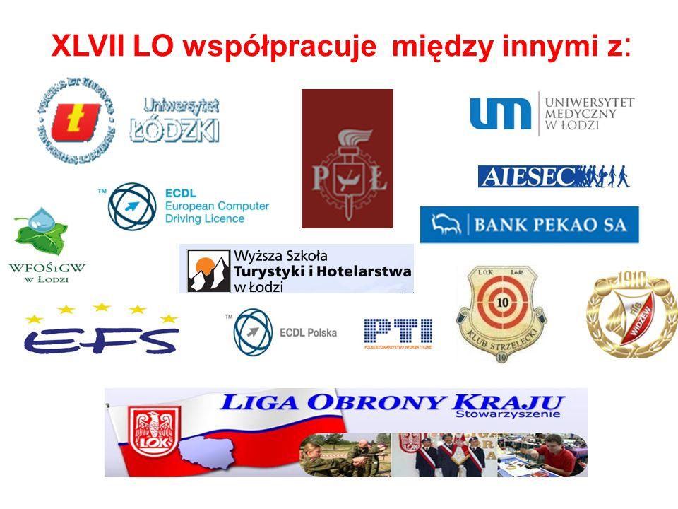 XLVII LO współpracuje między innymi z :