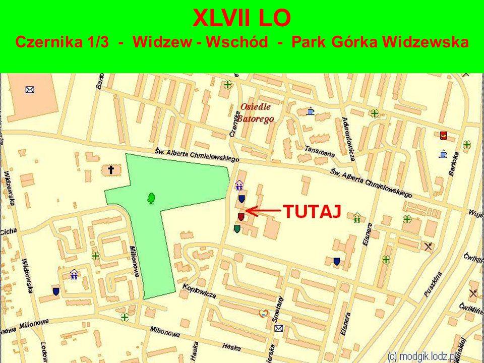 XLVII LO Czernika 1/3 - Widzew - Wschód - Park Górka Widzewska