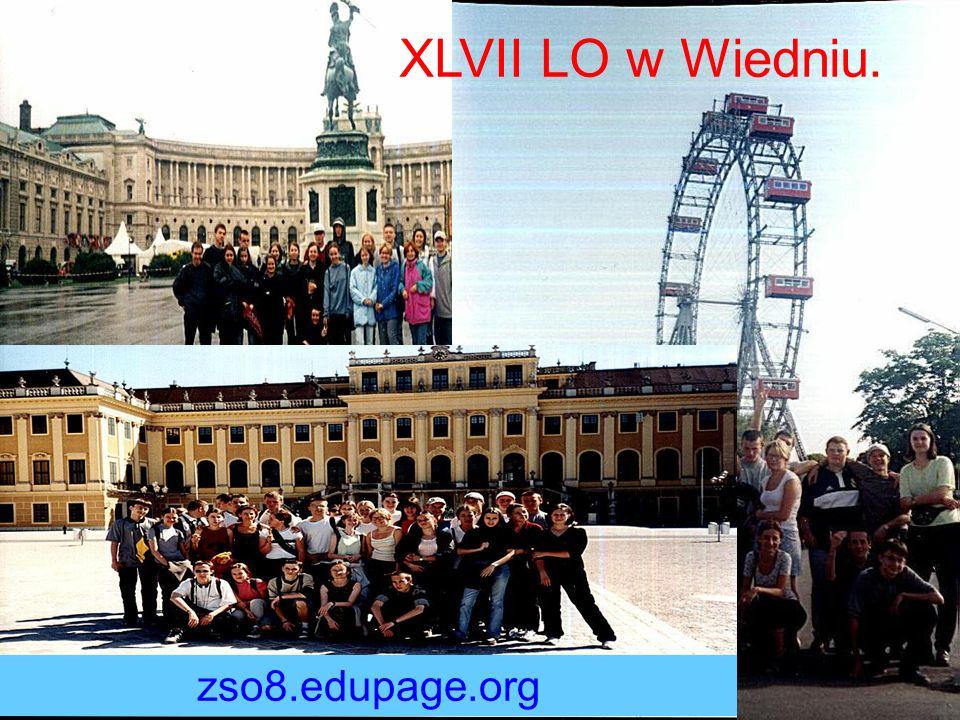 XLVII LO w Wiedniu. zso8.edupage.org