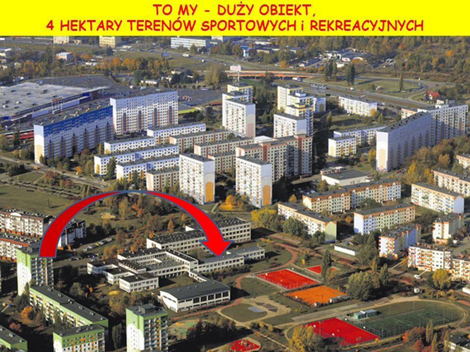 TO MY - DUŻY OBIEKT, 4 HEKTARY TERENÓW SPORTOWYCH i REKREACYJNYCH za: Janusz Kubik Express Ilustrowany