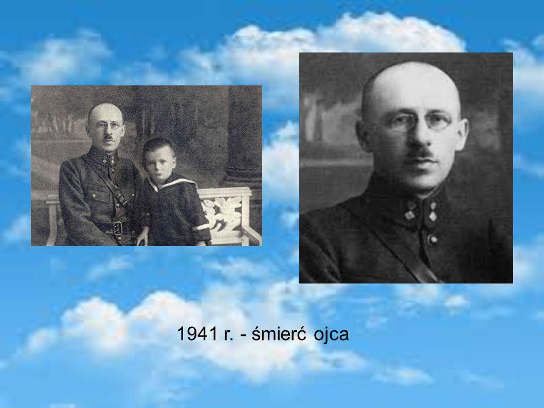1941 r. - śmierć ojca