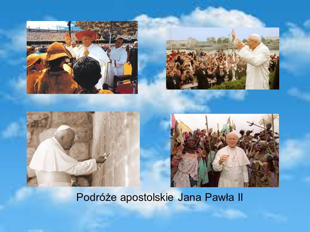 Podróże apostolskie Jana Pawła II