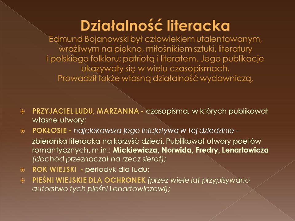 Członkiem Towarzystwa Naukowej Pomocy, Towarzystwa św.