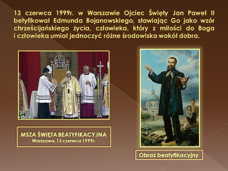 """""""Odszedł serdecznie dobry człowiek, jeden z najpobożniejszych, najpokorniejszych i najzasłużniejszych katolików Wielkopolski(…), wzór cichej pobożności, łagodnej wyrozumiałości i wyrzeczenia się siebie… Tygodnik Katolicki, 1871r."""