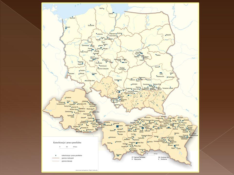 Katechizacja - Polska 2008r.