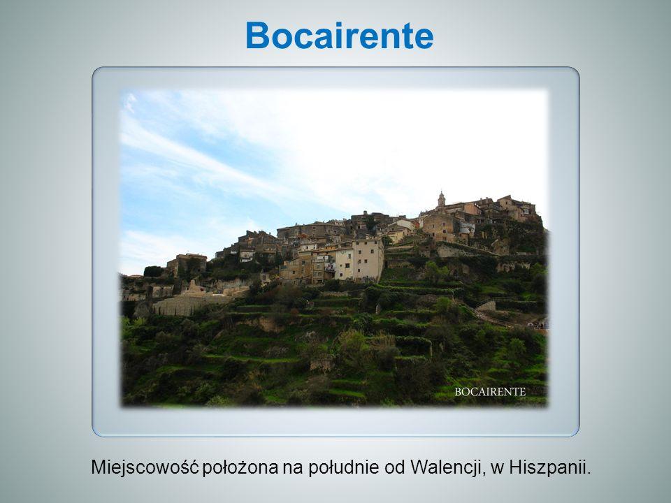 Bocairente Miejscowość położona na południe od Walencji, w Hiszpanii.