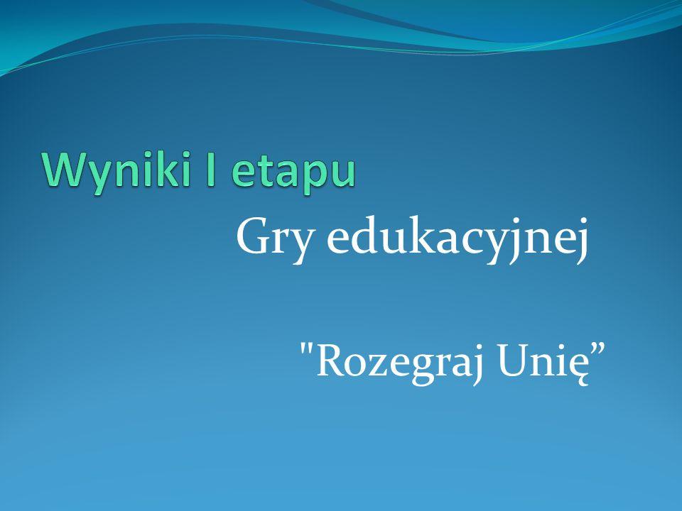 Gry edukacyjnej